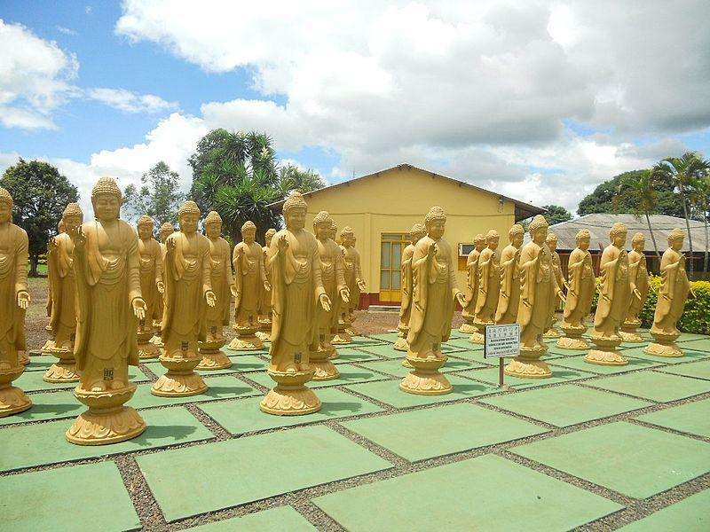 Visitar diferentes templos religiosos