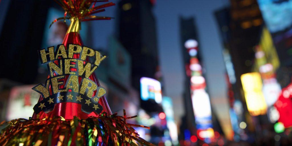A mais famosa festa é em Nova York