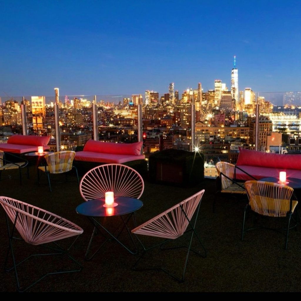 Os rooftops mais incríveis de Nova York: Le Bain