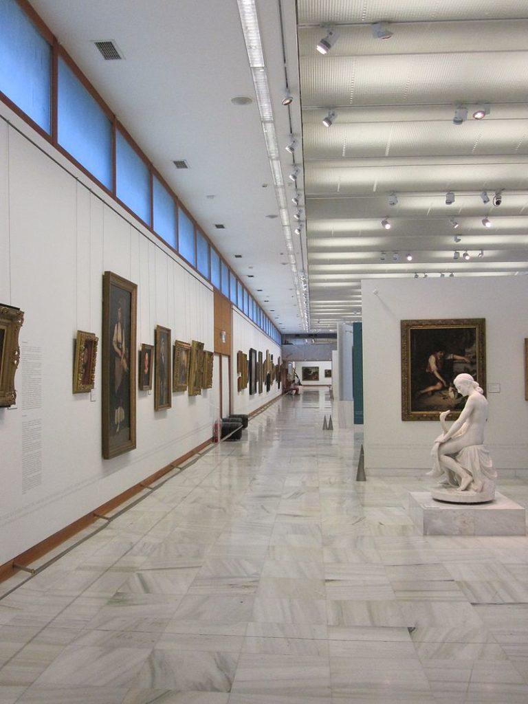 National Gallery, em Atenas na Grécia, na lista de quais os principais atrativos culturais do mundo em 2021
