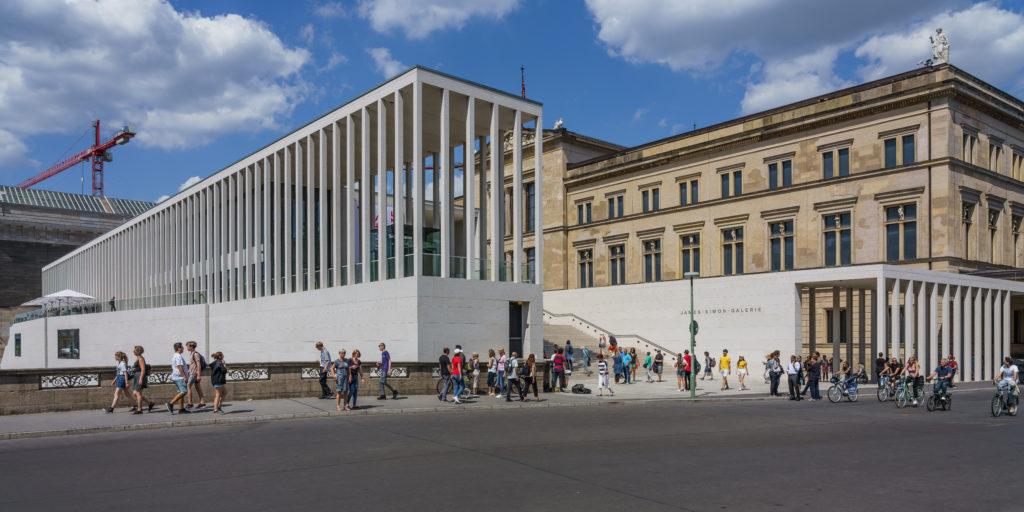 Quais os principais atrativos culturais do mundo em 2021? James Simon Gallery em Berlim, na Alemanha