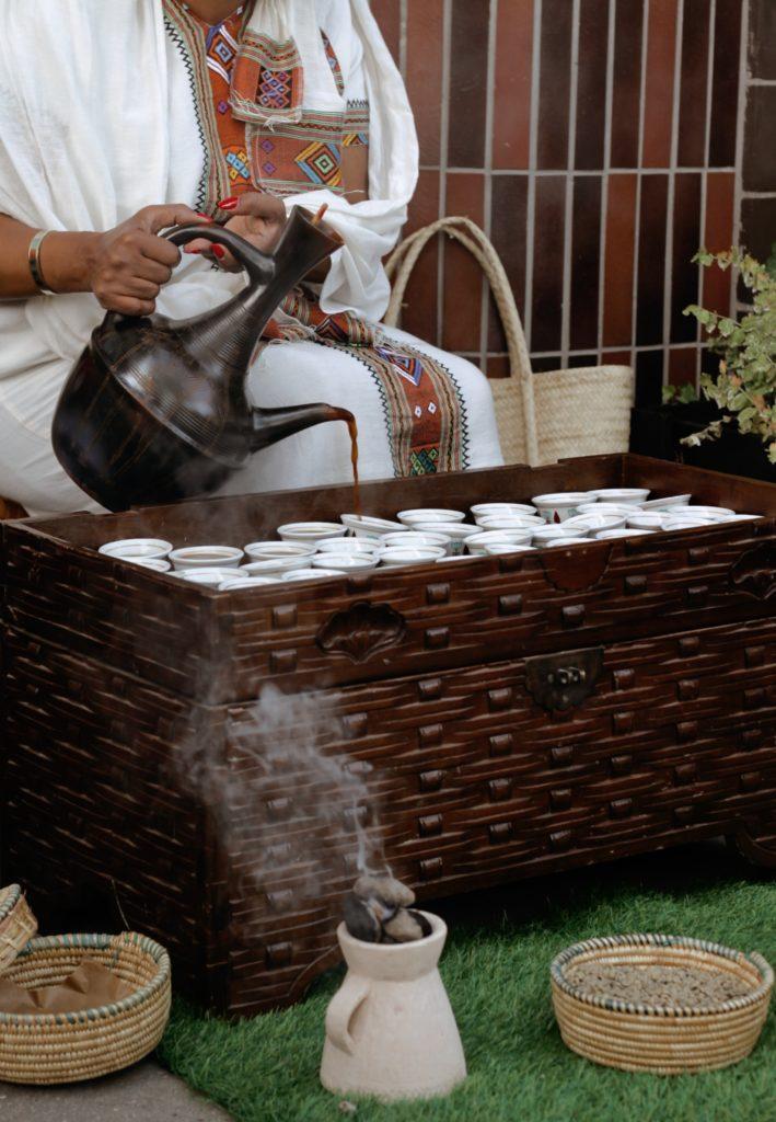 O café etíope está entre os melhores de todo o planeta